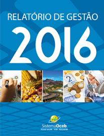 Capa do Relatorio de Gestao Sistema OCEB 2016